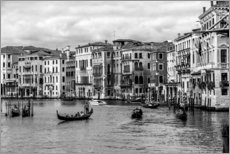 Gallery print  Venice black and white - Filtergrafia
