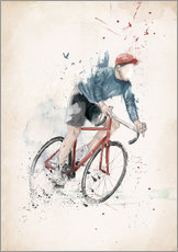 Wall sticker  I want to ride my bicycle - Balazs Solti