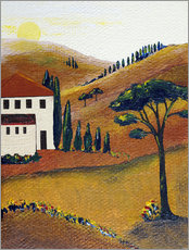 Gallery print  Colours of Tuscany - Christine Huwer