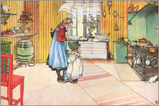 Gallery print  In the kitchen - Carl Larsson