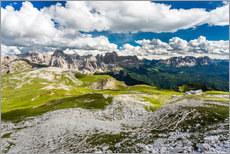 Wall sticker  Mountain views Dolomites - Thomas Hagenau