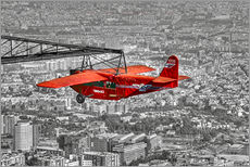 Wall sticker  Sightseeing flight over Barcelona - jens hennig