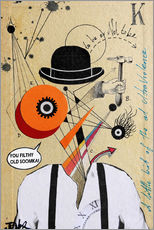 Wall sticker  A Clockwork Orange - Loui Jover