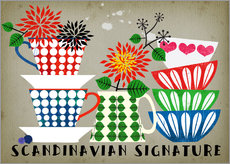 Wall sticker Scandinavian Signature