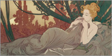 Wall sticker  Dusk - Alfons Mucha