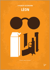 Wall Stickers  No239 My LEON minimal movie poster - chungkong