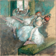 Canvas print  Ballet Dancers - Edgar Degas
