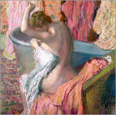 Gallery print  Seated Bather - Edgar Degas