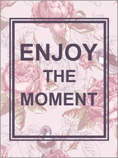Wall Stickers  Enjoy the Moment - Typobox