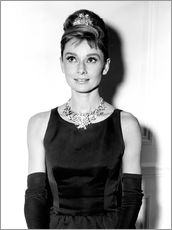 Gallery print  Audrey Hepburn in Breakfast at Tiffany's