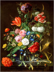Wall sticker  Flowers piece - Jan Davidsz de Heem