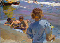 Wall sticker  Children at the beach - Joaquín Sorolla y Bastida