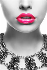 Gallery print  Pink kiss