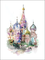 Wall sticker  St. Basil's Cathedral