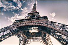 Gallery print  Paris - up to the sky and back