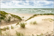 Wall sticker  Sand dunes on the Baltic Sea