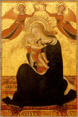 Wall sticker Madonna and Child with Angels