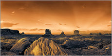 Wall sticker  Kelly Monument Valley - Michael Rucker