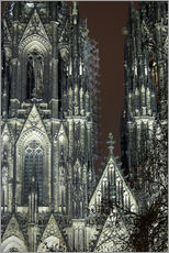 Gallery print  Detail of Cologne Cathedral