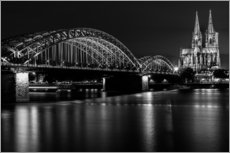 Gallery print  Cologne Cathedral and bridge
