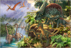 Wall Stickers  Dinosaur Valley - Steve Read
