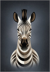 Wall sticker  Zebra - Dieter Braun