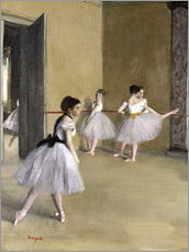 Wall sticker  Ballet room at the Peletier - Edgar Degas