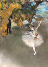 Gallery print  The Star - Edgar Degas