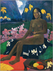 Gallery print  Te aa no areois (The Seed of the Areoi) - Paul Gauguin