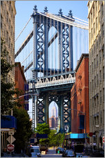 Wall sticker  Manhattan Bridge and Empire State Building