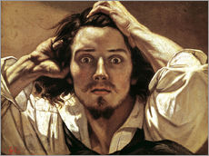 Wall sticker  The Desperate, Gustave Courbet - Gustave Courbet