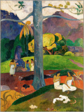 Gallery print  Mata Mua - Paul Gauguin