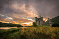 Wall Stickers  Castle Kilchurn, Scotland - Markus Ulrich