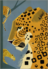 Wall sticker  Leopard - Dieter Braun