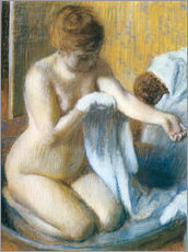 Wall sticker  Woman in a Tub - Edgar Degas