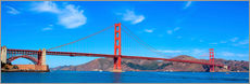 Wall Stickers  panoramic view of Golden Gate Bridge