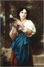 Gallery print  In the vine - William Adolphe Bouguereau