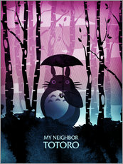 Wall sticker  My Neighbor Totoro - Albert Cagnef