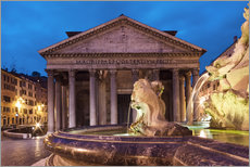 Gallery print  Pantheon at twilight, Rome, Italy - Circumnavigation