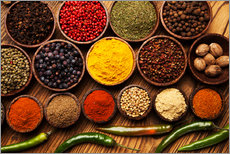 Gallery print  Hot spice mix
