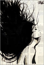 Wall sticker  A cold wind - Loui Jover