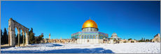 Wall Stickers  Dome of the Rock mosque in Jerusalem, Israel