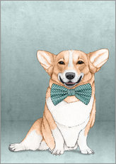 Gallery print  Corgi Dog - Barruf