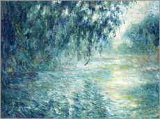 Wall sticker  Morning on the Seine - Claude Monet