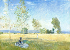Canvas print  Summer - Claude Monet