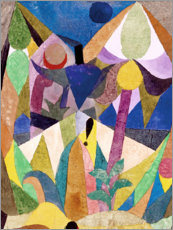 Canvas print  Tropical Landscape - Paul Klee