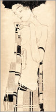 Wall sticker  Standing girl - Egon Schiele