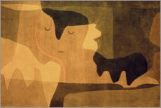 Canvas print  Siesta - Paul Klee