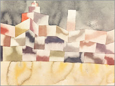 Wall sticker  Architecture in the Orient - Paul Klee
