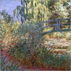Gallery print  Bassin aux Nympheas - Claude Monet